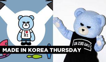 Made In Korea Thursday: The YG Bear Character Named KRUNK