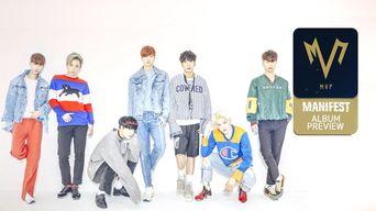 Teaser )) MVP 1st Mini Album 'MANIFEST' Album Preview