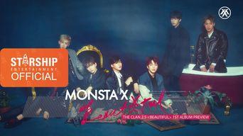 Teaser )) MONSTA X The 1st Album 'The Clan Part 2.5 Beautiful' Album Preview