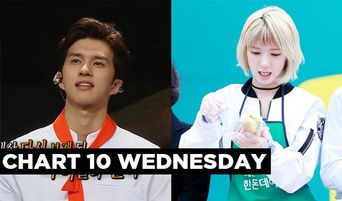 Chart 10 Wednesday: Pre-Debut Part Time Jobs by Busy Bee Celebs