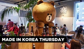 Made In Korea Thursday: Share a Drink with Adorable Characters at LINE Cafe