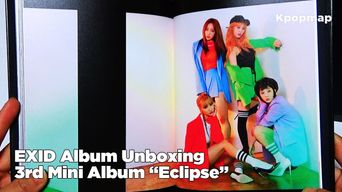 Unboxing: EXID Signed CD - 3rd Mini Album 'Exlips - Night Rather Than Day'