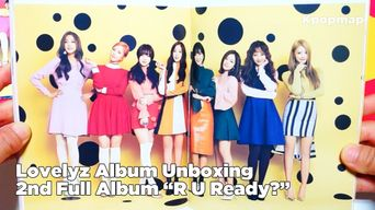 Unboxing: Lovelyz Signed CD - 2nd Album 'R U Ready?'