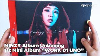 Unboxing: MINZY 1st Mini Album 'WORK 01 UNO'- Ninano