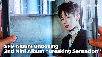 Unboxing: SF9 Signed CD - 2nd Mini Album 'Breaking Sensation' - Easy Love