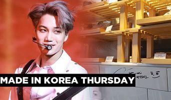 Made In Korea Thursday: EXO Kai's Cafe in Seoul, 'KAMONG'