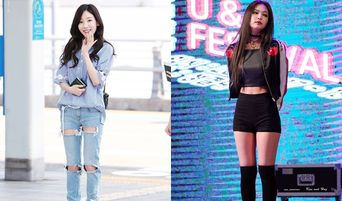 Which Body Type Do You Prefer? Stick Thin? Or With Curves? Girl Idols By Body Type