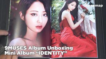 Unboxing: 9MUSES (NINE MUSES) Mini Album 'IDENTITY - Remember' Signed Album Unboxing