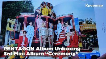 Unboxing: PENTAGON 3rd Mini Album 'CEREMONY - Critical Beauty' Album Unboxing