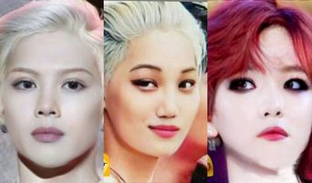 List Of Korean Top Stars' Faces If Their Genders Are Changed