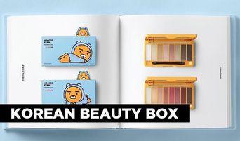 Korean Beauty Box: The Face Shop X Hoodie Ryan Collaboration Line