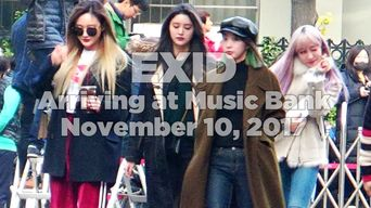 171110 EXID Arriving at Music Bank
