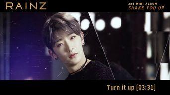Teaser )) RAINZ 'Shake You Up' Album Preview
