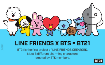 Made In Korea: BT21 By LINE FRIENDS x BTS