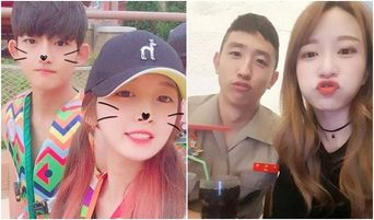 Idol Girl Group Members and Their Younger Male Siblings