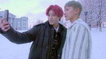 Video )) NCT U TaeYong & Ten in Ukraine