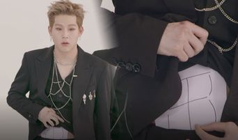 MONSTA X Makes a Promise and JooHeon Shows His 'Abs'