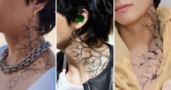Made In Korea: Trendy and Fashionable Hangeul Tattoo Stickers