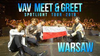 Video )) VAV Meet & Greet in Warsaw (Spotlight Tour 2018)