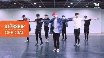 Video )) MONSTA X - JEALOUSY (Dance Practice Ver.)
