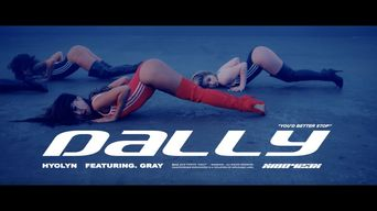 """HyoLyn Proves Herself Again To Be A Sexy Queen In New """"Dally"""" MV"""