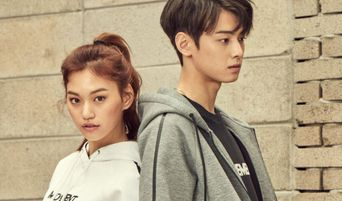 ASTRO Cha EunWoo, Weki Meki Kim DoYeon And Block B P.O For A V-Live Program