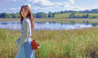 Actress Kim SoHyun Elegant And Lovely Pictures In Australia