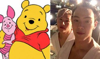 Fans Love How MONSTA X JooHeon And ShowNu Look Like Piglet And Pooh