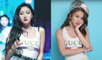 Who Wore It Better MAMAMOO's HwaSa Or TWICE's ChaeYoung?