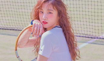 (G)I-DLE's YuQi Is A Pretty Tennis Girl For Photoshoot