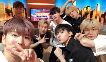 MONSTA X Makes Their Appearance On 'Good Day New York'