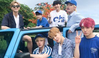 BTS X Naver STARCAST '2018 Summer Package In Saipan' Behind Photos (+37 Pics)