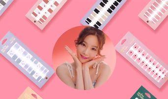 Korean Beauty Box: Gelato Factory - TaeYeon's Pick For Nail Stickers