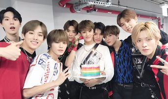 NCT 127 Shows Brotherly Love for Mark During 'Korea Music Festival 2018'