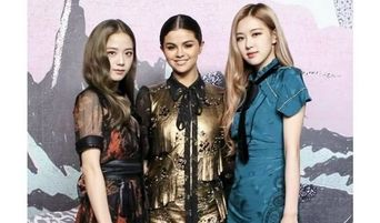 BLACKPINK Rose And JiSoo Spotted With Selena Gomez At New York Fashion Week
