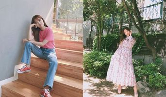 """DoHee Acting In """"My ID Is Gangnam Beauty"""" Takes Cool Poses For Her Instagram"""