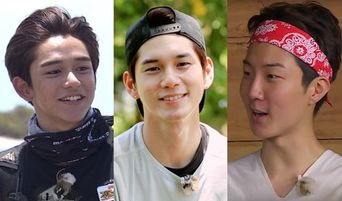 Top 6 Male Stars Who Still Look Handsome Without Makeup In Jungle (Part 3)