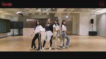 SeulGi X SinB X ChungHa X SoYeon's 'Wow Thing' Dance Practice