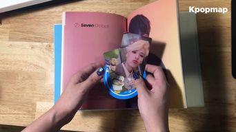 Unboxing : Seven O'clock 2nd Mini Album '#7' Album Unboxing