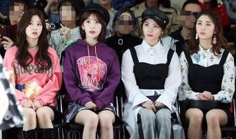 IZ*ONE's Sakura, MinJu, Pledis's Lee GaEun & Huh YunJin Make Appearance For Seoul Fashion Week