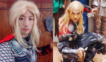 Who Looked The Best With Thor Costume: Golden Child's JiBeom Or NCT's Lucas?