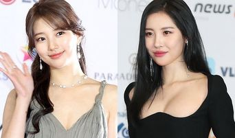 SunMi And Suzy Graced The Red Carpet Of AAA 2018 With Low Cut Dresses