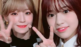 fromis_9's JiHeon Becomes Friends With IZ*ONE's An YuJin