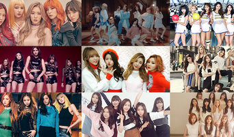 The Average Age Of Female K-Pop Idol Groups In 2019