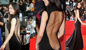 Actress Kang HanNa Talks About Her Shockingly Revealing Dress