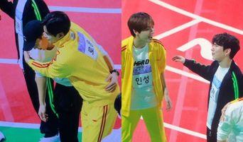 MONSTA X's ShowNu & SF9's RoWoon And KiHyun & InSeong Sweet Interactions At 'ISAC 2019' Seollal