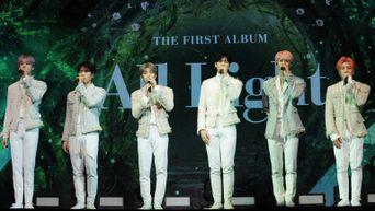 """Exclusive Photos: ASTRO 1st Album """"All Light"""" Showcase"""