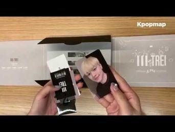 """Unboxing: TREI 1st Mini Album """"BORN ; 本"""" Unboxing"""