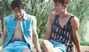 Why MONSTA X Shownu & WonHo Would Make The Sexiest Lingerie Models Of All Time