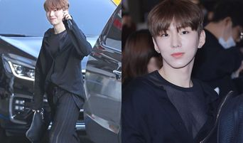MONSTA X's KiHyun Wears WonHo's See Through Top And Pants As Promised